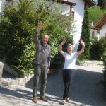 Good Bye from Christa and Günther of the Sonnwirtstöckl in St. Gilgen