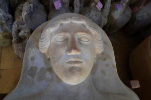 Syrien - Grabkammer Figur